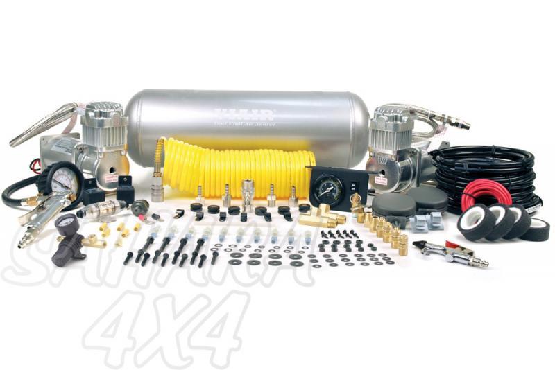 Kit Completo Viair Con Calderin 2 G Xtreme Duty - Listo para montar  , 150 PSI / 75.88 Litros/Min