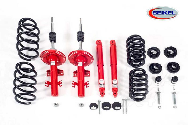 Kit suspension Seikel +30 mm con Koni para VW T5 2003-2014 - Kit completo para VW T5