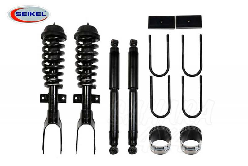 Kit de elevacion +25 mm Desert Seikel para VW Amarok - Kit de elevacion +25 mm