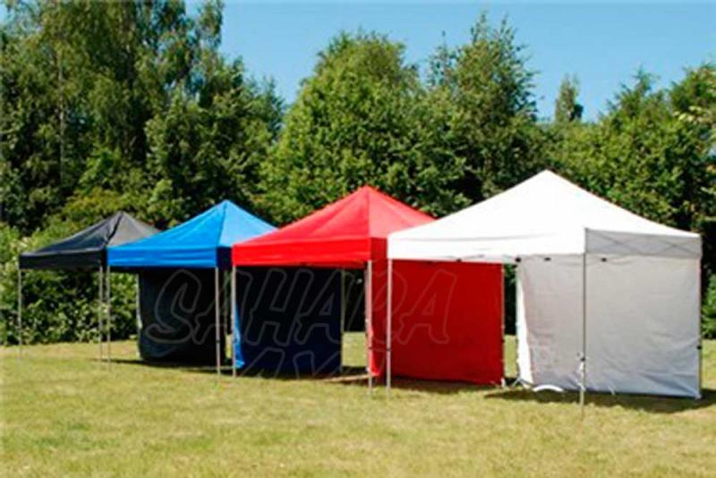 Carpa plegable 3x3  - Disponible en 4 colores diferentes (Negro, Azul, Amarilla, Rojo, Blanco, Naranja)