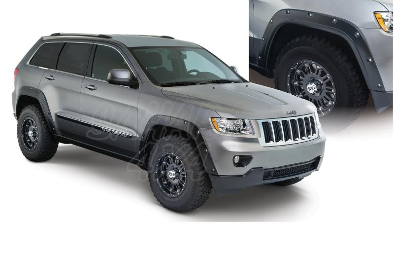 Aletines Bushwacker Cut Out 1.25 cm Grand Cherokee WK 2 11-14 - Disponible para  4 puertas