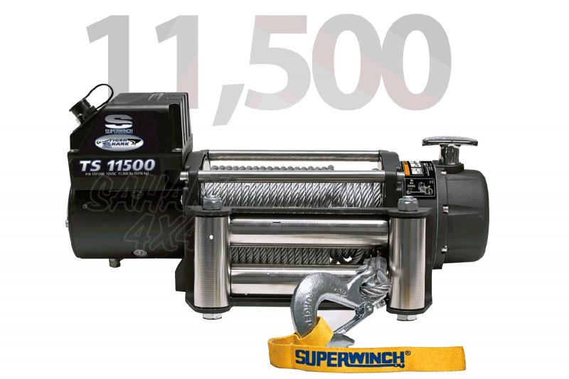 Superwinch Tiguer Shark 11.500lbs  5.216 Kg   - Cabrestante electrico a 12v o 24v.