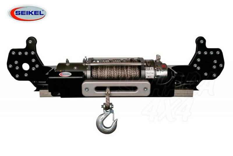 Soporte de winch Seikel + winch 8.000 Lbs (3.600 Kg) para VW T5 2003-2014
