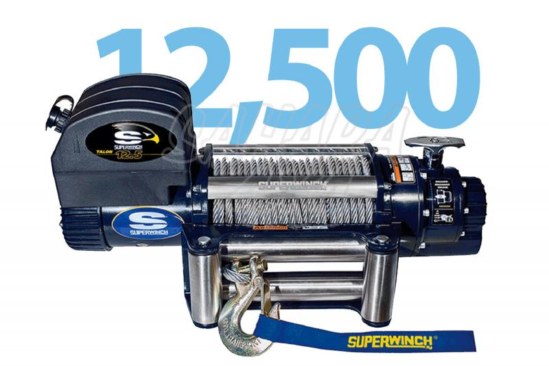 Superwinch Talon 12.5  5.670 Kg - Cabrestante electrico a 12v o 24v.