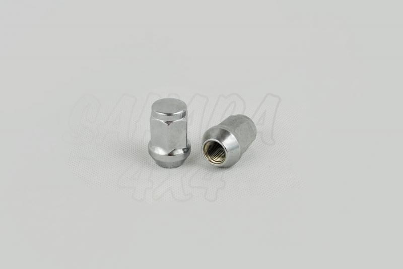 Tuerca de Rueda para Suzuki Vitara - 12mm x 1.25 para llanta de Acero. (precio por unidad)