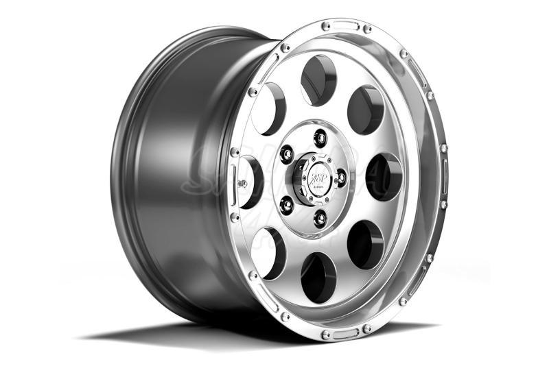 Llantas Aluminio 9x17 ET -16 , Wrangler JK, 07-