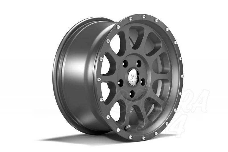 Llantas Aluminio 8.5x18 ET+12 , Wrangler JK, 07-