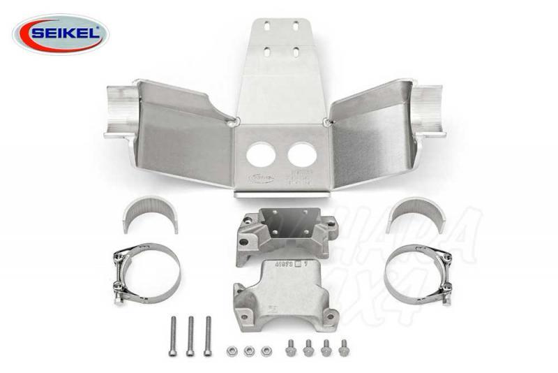 Protector Eje trasero Desert 8mm aluminio Seikel para VW Amarok