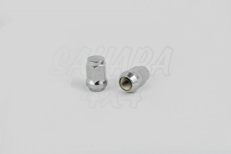 Tuerca de Rueda para Skoda Yeti - 14mm x 1.50 para llanta de Acero. (precio por unidad)