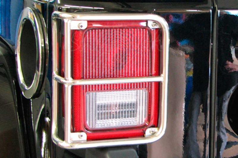 Protectores pilotos traseros superiores Jeep Wrangler JK - Seleccione el acabado