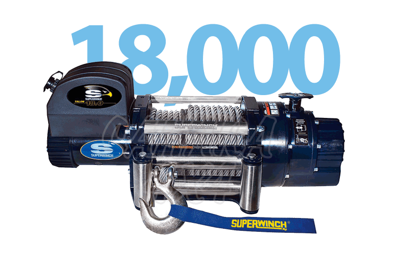 Superwinch Talon 18.000 lbs 8.165Kg - Cabrestante electrico a 12v o 24v.