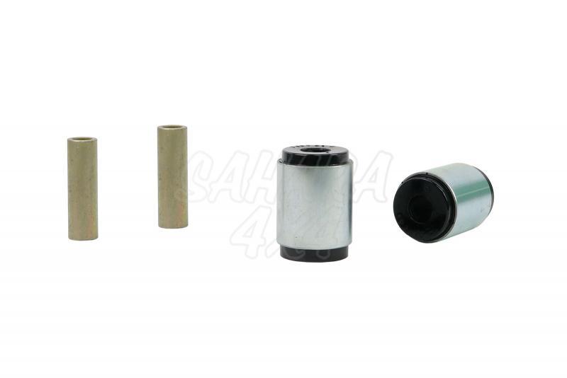 Nº10 Casquillos Nolathane poliurethano Ballestas traseras a chasis - Kit de 4 casquillos, 46 mm