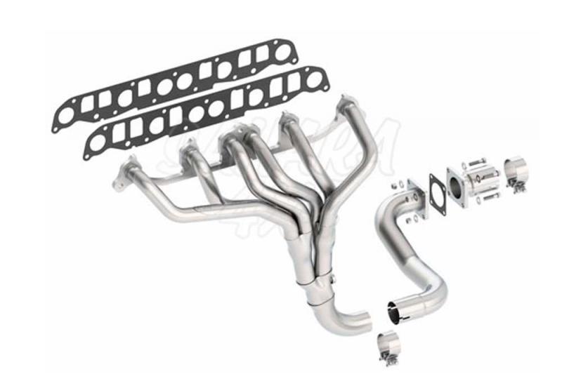Colectores Borla Jeep Wrangler - Seleccione su motor