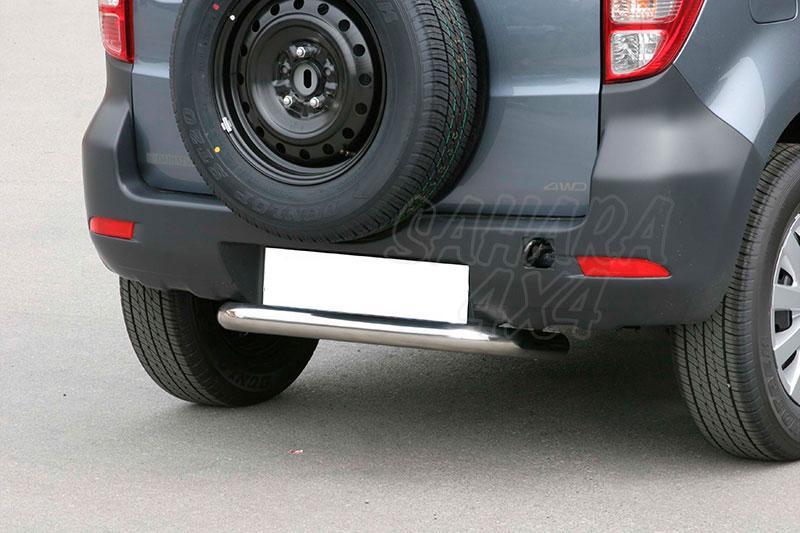 Protector de parachoques trasero en tubo inox Ø76mm para Daihatsu Terios 2009- - (imagen no contra actual)