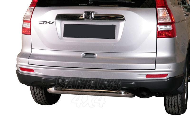 Protector de paragolpes trasero en tubo inox Ø76mm para Honda CR-V 2010- -