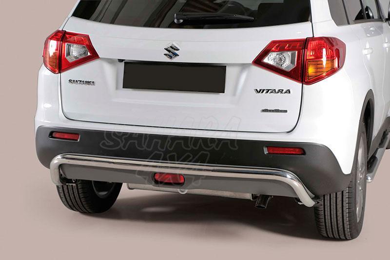 Protector de parachoques trasero en tubo inox Ø50mm para Suzuki Vitara 2015- -