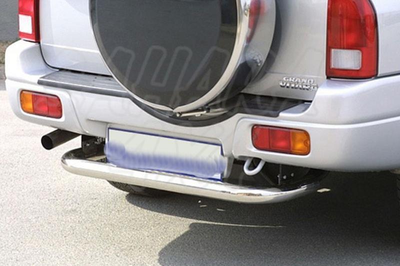 Protector de parachoques trasero en tubo inox Ø63mm para Suzuki Grand Vitara XL7 2004-2007 - (Imagen no contra actual)