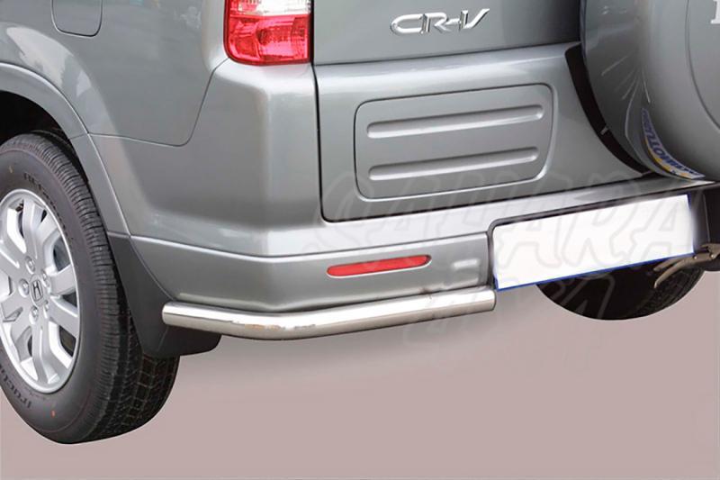 Protector inferior de esquinas traseras en tubo inox Ø50mm para Honda CR-V 2005-2007 -