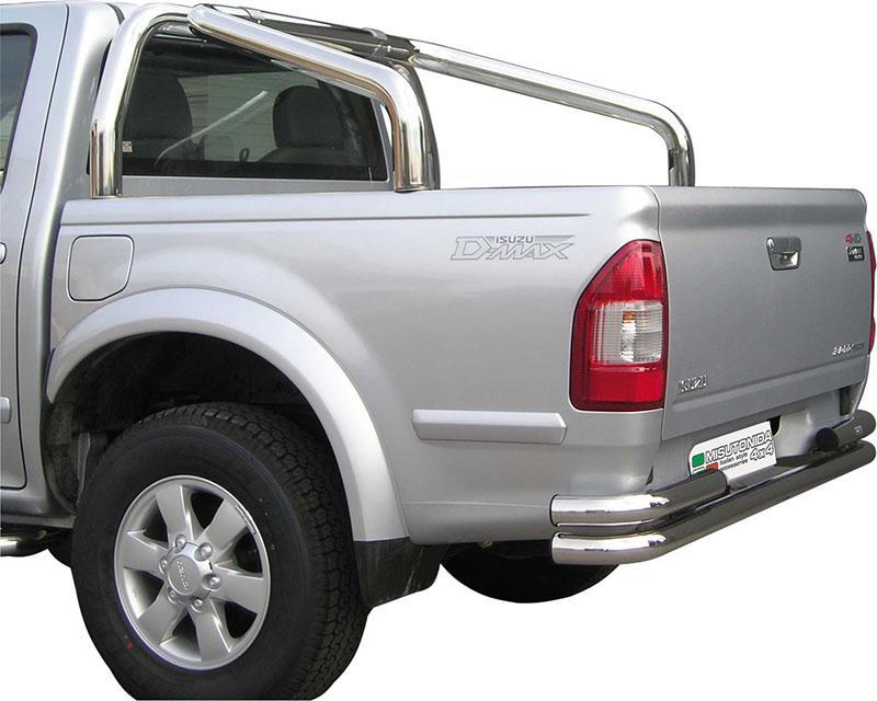 Rollbar en acero inox 76mm para Isuzu D-Max/Rodeo 2002-2006