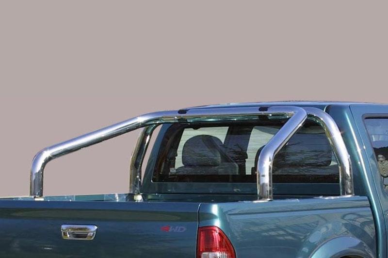 Rollbar en acero inox 76mm para Isuzu D-Max/Rodeo 2006-2012