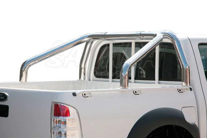 Rollbar en acero inox 76mm para Ford Ranger 2009-2012 -