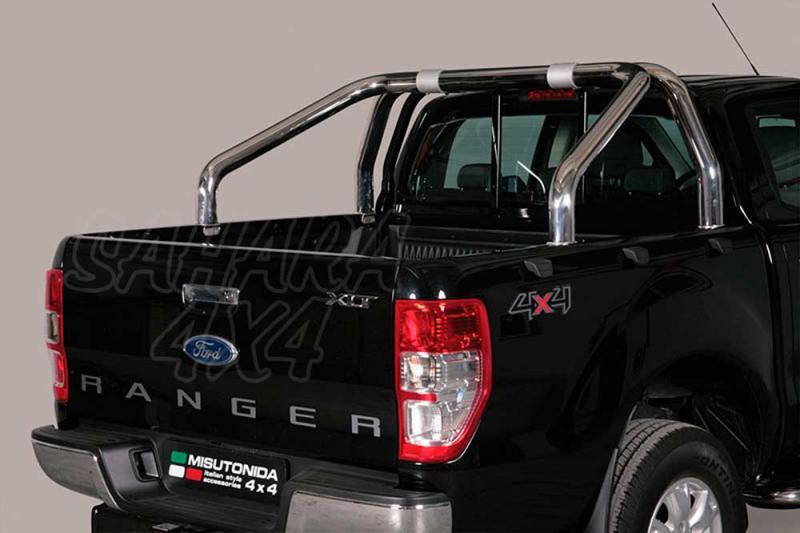 Rollbar en acero inox 76mm para Ford Ranger 2012- -