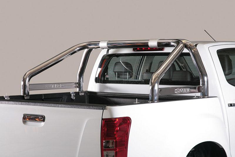 Rollbar en acero inox 76mm para Isuzu D-Max 2012-