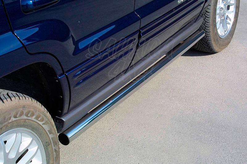Estribos en tubo inox Ø63mm para Jeep Grand Cherokee WJ 1999-2004