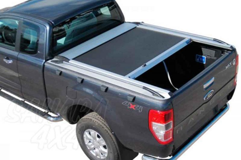 Persiana de aluminio enrollable (extra cabina) para Ford Ranger 2012-