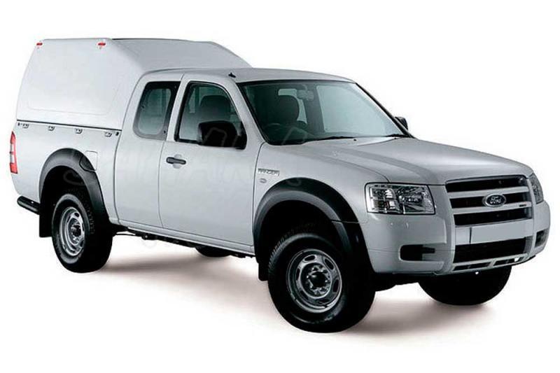 Hardtop sobreelevado sin ventanas (extra cabina) para Ford Ranger 99-06 - Nota: * Referencia bajo pedido