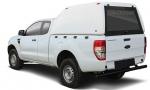 Hardtop sobreelevado sin ventanas (extra cabina) para Ford Ranger 2012- - Nota: * Referencia bajo pedido