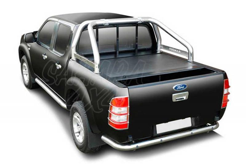 Persiana de aluminio enrollable Roll & Lock(extra cabina) para Ford Ranger/Mazda BT50 2006-2012 -