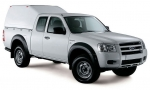 Hardtop sobreelevado sin ventanas (extra cabina) para Ford Ranger 2006-2012 - Nota: * Referencia bajo pedido