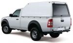 Hardtop sobreelevado sin ventanas (simple cabina) para Ford Ranger 2006-2012 - Nota: * Referencia bajo pedido