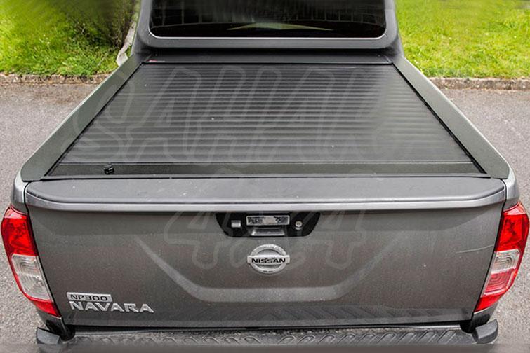 Persiana de aluminio enrollable para Nissan Navara D23 - Para Doble cabina