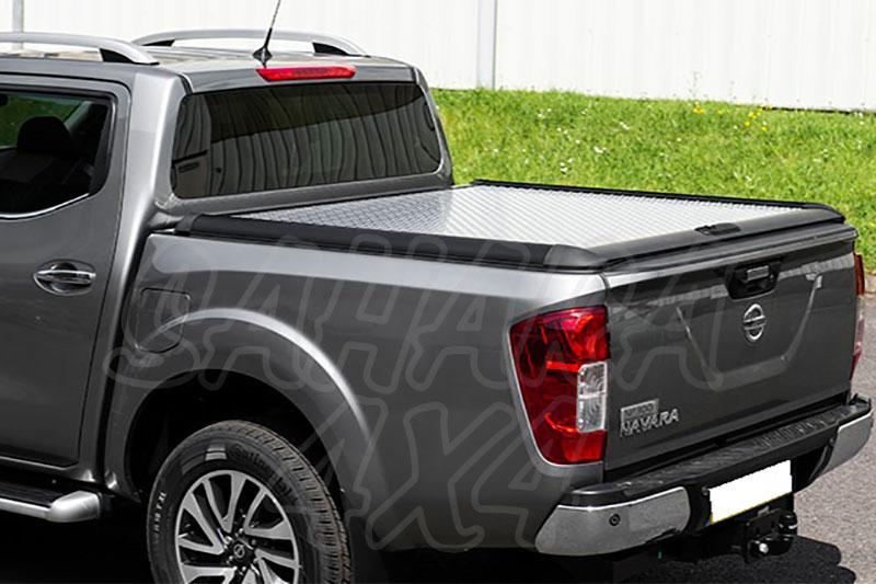 Cubierta plana rígida en aluminio para Nissan Navara D23 - Para Doble cabina