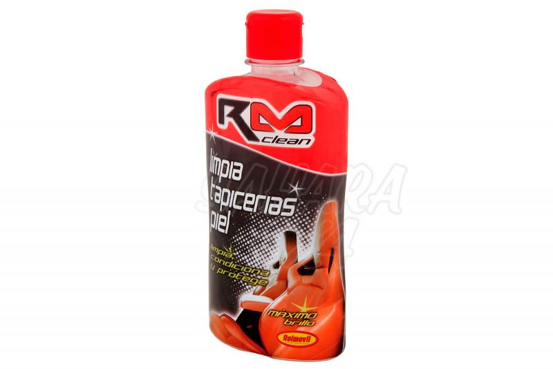 Limpia Tapicerias Piel Crema RM Clean - Bote de 500ml.