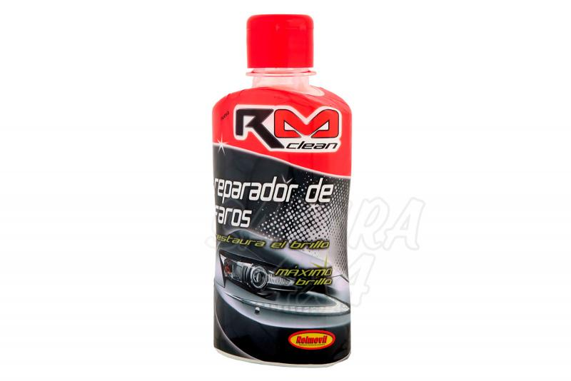 Restaurador de Faros RM Clean - Bote de 250ml.