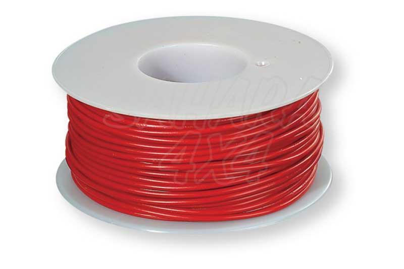 Cable instalacion 2.5 mm Rojo o negro  - Precio por metro.