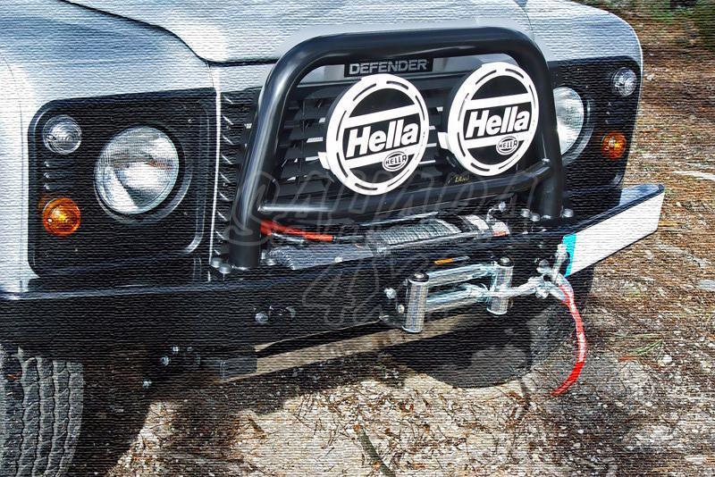 Arco central con soporte de faros AFN para parachoques frontal para Land Rover Defender - NO HOMOLOGABLE