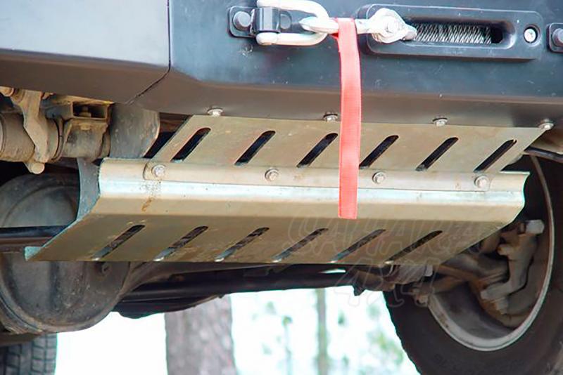 Protectores de bajos AFN para Land Rover Defender 130 - Pulse para ver todos los protectores que disponemos para su modelo.