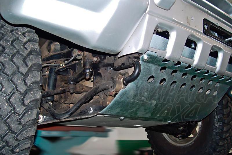 Protectores de bajos AFN para Mitsubishi Montero II V20 - Pulse para ver todos los protectores que disponemos para su modelo.