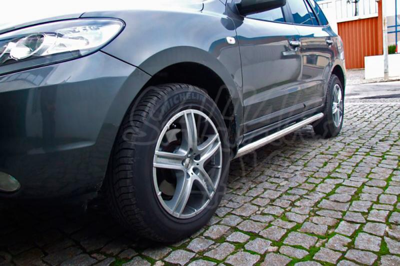 Estribos en tubo inox Ø60mm para Hyundai Santa Fe 2006-2010 -