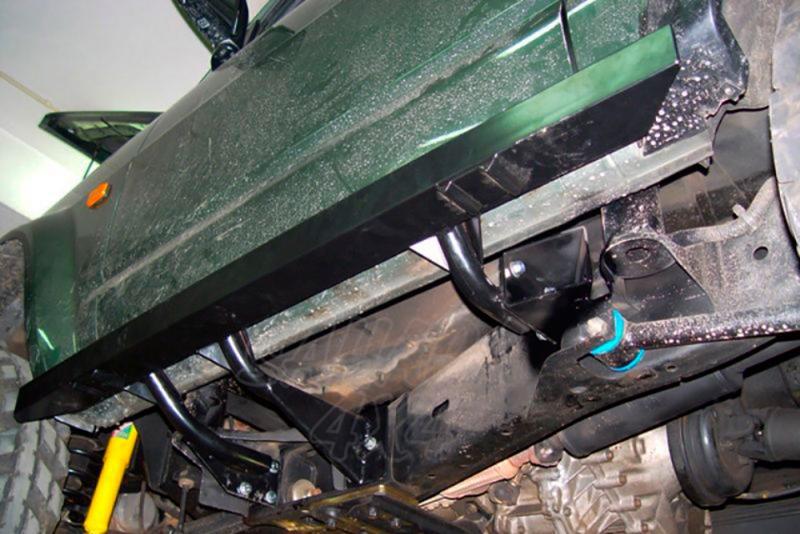 Taloneras/protectores para gato sin aluminio protector AFN para Nissan Patrol GR Y60 - Para GR Y60 1988-1998 (3 puertas)