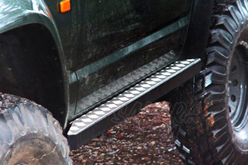 Taloneras/protectores para gato con aluminio protector AFN para Nissan Patrol GR Y60 - Para GR Y60 1988-1998 (3 puertas)