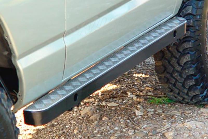 Taloneras/protectores para gato con aluminio protector AFN para Nissan Patrol - Para 240/260/280 (3 puertas) 1982-1998