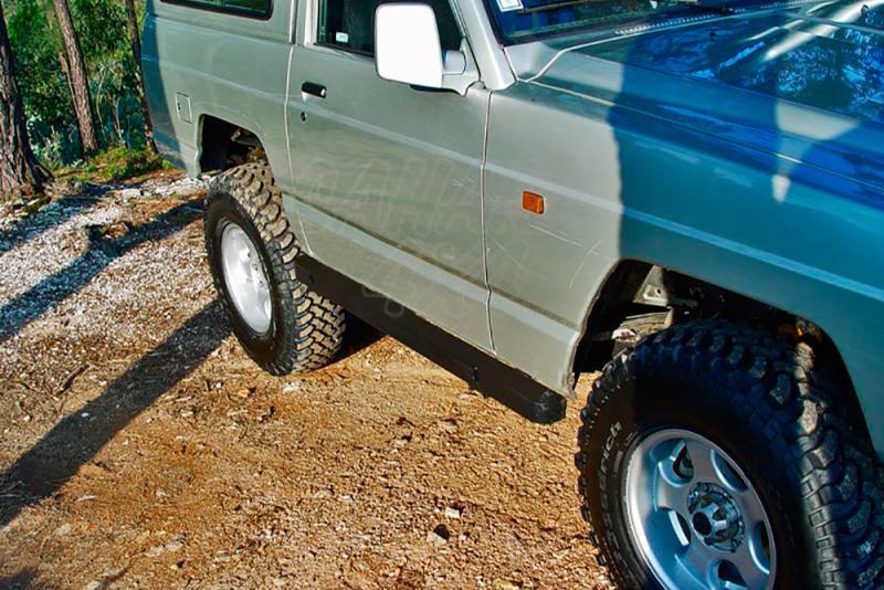 Taloneras/protectores para gato sin aluminio protector AFN para Nissan Patrol - Para 240/260/280 (3 puertas) 1982-1998