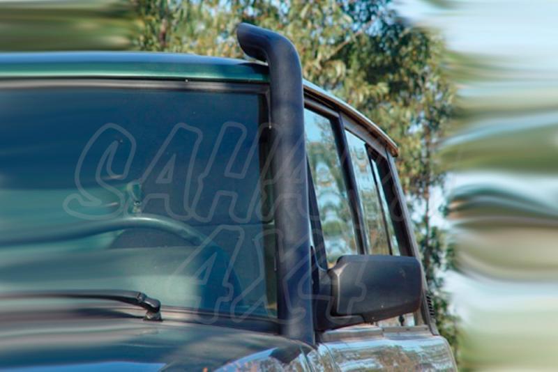 Toma de aire elevada (Snorkel) sin prefiltro. Range Rover Classic - Fabricado en acero