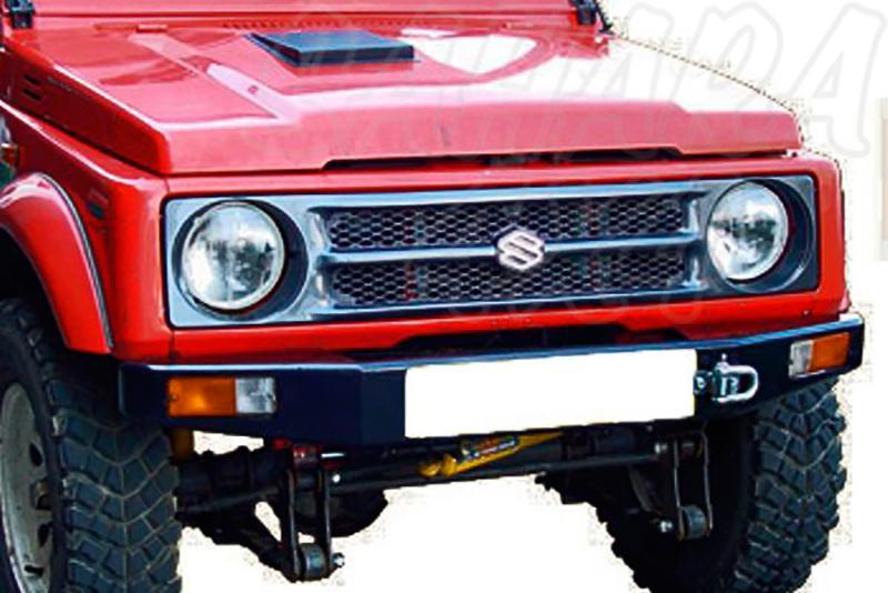 Parachoques frontal con base de cabestrante AFN para Suzuki Samurai/SJ 1986-2003 - Sólo modelos Gasolina