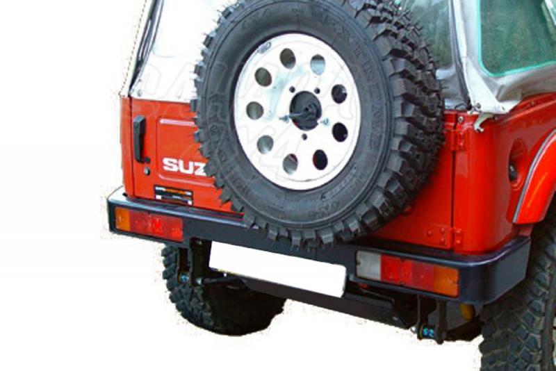 Parachoques trasero AFN en acero para Suzuki Samurai/SJ 1986-2003 -